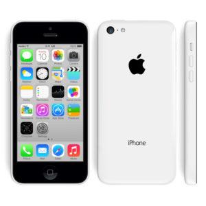 A legolcsóbb Apple iPhone 5C fehér színű