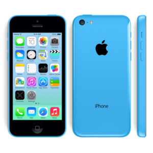 A legolcsóbb Apple iPhone 5C kék színű