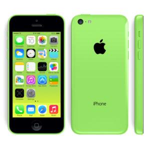 A legolcsóbb Apple iPhone 5C zöld színű