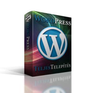 Legolcsóbb WordPress honlap készítés teljes telepítéssel